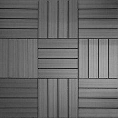 Interlocking Deck Tiles Home Depot Amazing Composite Deck Tile Kit In Ipe Color 10 Tilescase Common 12