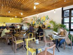 Lexi's Healthy Eatery is a brand-new, sustainable, mostly vegetarian restaurant in Sandton. The food is as delicious as it is beautiful. Conference Room, September, Restaurant, Healthy, Table, Furniture, Food, Home Decor, Decoration Home