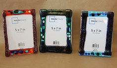 Fused Glass Frames - Art Class