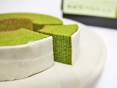 抹茶バウムクーヘン/Green Tea Baumkuchen, Shizuoka