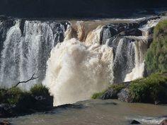 Imagen de los Saltos del Monday (Paraguay)