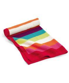 Jamboree - Knitted Blanket - 70 x 90cm