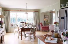 Kitchen Living Area - country - Kitchen - South West - Susie Watson Designs