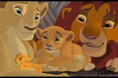 Nala and Simba show Kiara her baby brother Kion