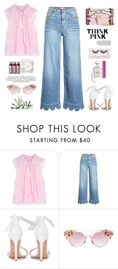 """""""Love my tender"""" by yexyka ❤ liked on Polyvore featuring Temperley London, RED Valentino, PENHALIGON'S, Alexandre Birman and Boohoo"""