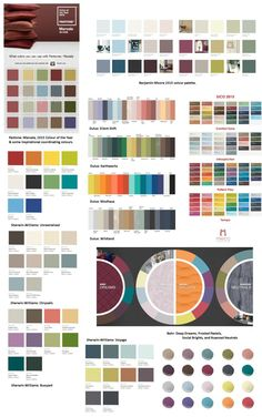 the 2015 colour story | @meccinteriors | design bites