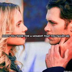 """920 Likes, 31 Comments - The Vampire Diaries/Originals (@tvdbadass) on Instagram: """"[#12daysoftheoriginals] Day 9: OTP + quote ↳ Klaus to Cami in 3x19 ⠀ My babies deserved so much…"""""""