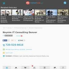 IT Consulting Services Denver by Noynim IT Solutions