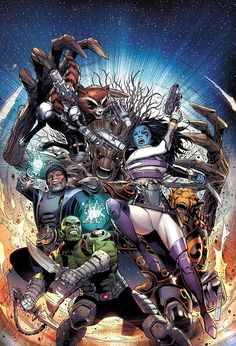 Guardians of Infinity #1 - Cover by Jim Cheung