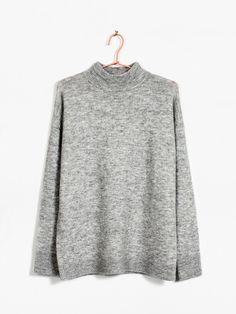 Emily sweater | 7171356 | Grå | BikBok | Norge