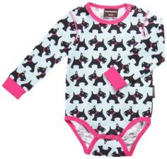 Maxomorra Bodysuit LS Dog