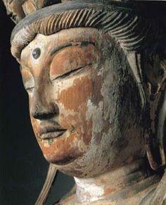 「流浪の画家」の隆くん: 〇薬師寺・大宝蔵殿・特別公開。より 薬師寺 十一面観音@ Nara