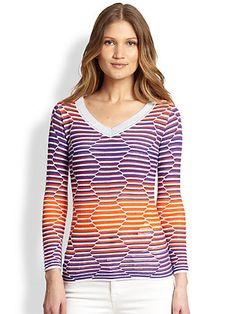 missoni Saks Fifth Avenue, Missoni, Knitwear, V Neck, Blouse, Sweaters, Tops, Women, Life