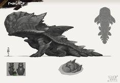 怪物獵人OL今天推出五只新怪物 - liuyi0228的創作 - 巴哈姆特