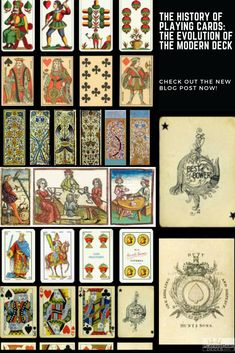 The History Of Playing Cards The Evolution Of The Modern Deck Playing Cards Modern Deck Deck Of Cards