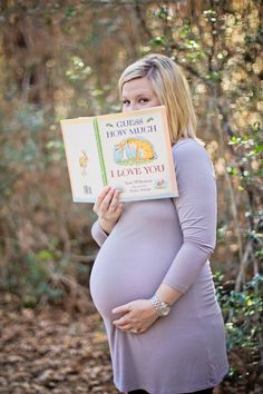 "Just got an idea: baby announcement photo of us sitting on a park bench reading ""what to expect when you're expecting"""