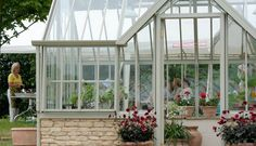 The Mottisfont National Trust Greenhouse by Alitex