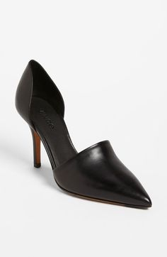 Free shipping and returns on Vince 'Claire' Pump at Nordstrom.com. Supple leather elevates the sleek silhouette of an elegant d'Orsay pump. <br><br>Timeless aesthetics meet modern sophistication in Vince's collections of iconic, wearable essentials—always focusing on distinctive design, enduring style and uncompromising quality.
