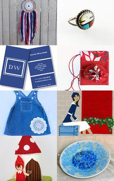 red, white and blue for you by Robyn on Etsy--Pinned with TreasuryPin.com
