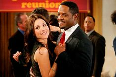 Daniel Harris (Blair Underwood) The New Adventures of Old Christine Christine will be his date and they will live happily ever after!!