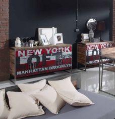 Risultati immagini per muebles diseño industrial vintage Vintage Industrial, Bed Pillows, Pillow Cases, Furniture, Design, Home Decor, Youtube, Furniture Catalog, Industrial Furniture