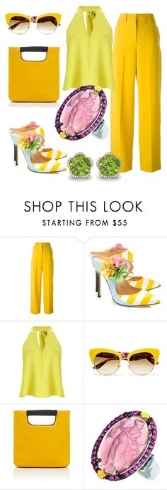 """""""Grazia"""" by glamheartcafe ❤ liked on Polyvore featuring Cédric Charlier, Giannico, Miss Selfridge, Dolce&Gabbana, Simon Miller, Phillip Gavriel and Kiki mcdonough"""