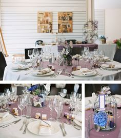 Rustic wedding decor. {Décoration de mariage inspiration brocante chic} Raphael Melka Photography