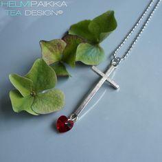 Helmipaikka Oy - Joka päivä on korupäivä - Helmipaikka. Crosses, Arrow Necklace, Swarovski, Jewelry, Jewlery, Jewerly, Schmuck, Jewels, Jewelery