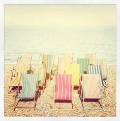 Joules Summer. Beach. Deck chair. Seaside.