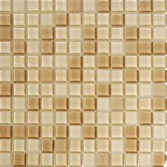 Mineral Tiles - Pool Glass Mosaic Tile Maui 1x1, $14.95 (http://www.mineraltiles.com/pool-glass-mosaic-tile-maui-1x1/)
