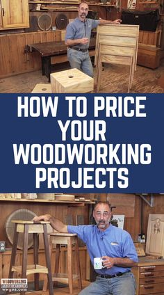 """""""What is a good guideline that is fair when charging for projects to sell or building a small cabinet for someone. What is fair when considering cost of material and labor? Do you mark up the cost of material? What is a fair labor rate? Woodworking Ideas To Sell, Learn Woodworking, Popular Woodworking, Woodworking Furniture, Woodworking Crafts, Woodworking Plans, Woodworking Videos, Woodworking Workshop, Wood Furniture"""
