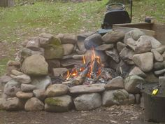 how to build a rock fire pit | fireplace design ideas rock firepits Best rock firepits Ideas