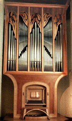 PRADINES - Monastère des Bénédictines - orgues quoirin