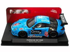 Porsche 997 GT3 RSR Belcar Spa Francorchamps 2011