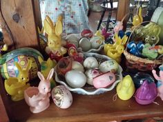 Some of my vintage Easter items
