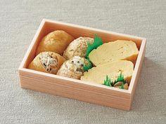 〈大徳寺さいき家〉二種類のいなり寿司だし巻き弁当