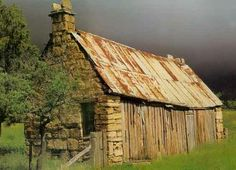 Old Barn in Italy's Countryside by claudine