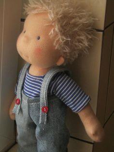 Coutume de poupée Waldorf poupée poupée poupée steiner par bemka