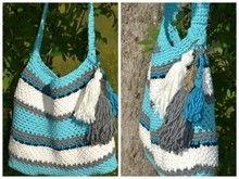 ++ SKYLA ++ schnelle Beachtasche, für jede Größe und Garn nach Wunsch