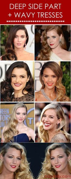 So Romantic: A DDG Moodboard full of deep sides parts and wavy locks