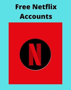 Get a FREE Netflix premium account The best way to get a FREE Netflix Account with username E-mail and password 2021 Updated every day Netflix Premium, Free Netflix Account, Accounting, Username