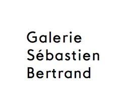 Sentence case sans-serif logotype designed by Neo Neo for Sébastien Bertrand contemporary art gallery