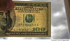 This is why those iodine pens do not work: If you bleach a real note and imprint one of a higher denomination, the pen will still call it a real note! Check the watermarks and security threads! Stock Portfolio, Members Of Congress, Dumb And Dumber, Pens, Bleach, Finance, Cooking Recipes, Note, Spaces