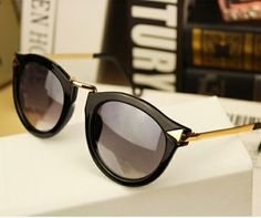 Retro colorful trendy sunglasses