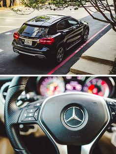 It's spring! The Mercedes-Benz GLA 250 is ready for your roadtrips! Photos by Drew DeGennaro via Mercedes-Benz USA. #mbphotopass [Mercedes-Benz GLA | combined fuel consumption 6.2–6.1 l/100km | combined CO2 emission 145–142 g/km | http://mb4.me/efficiency_statement]