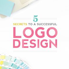 Today I'm sharing with you my 5 secrets to a successful logo design, as well as a peek into my process for past branding client Sweets & Treats.