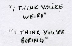 """Thoughts on Boring People - """"Blending Realms and Boring People"""" - Miss Maddie Jane"""