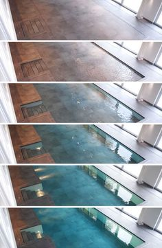 Walk on Water: Hydro-Floors Hide Secret Swimming Pools
