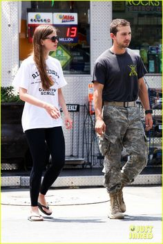 SPOTTED: Mia Goth, with her boyfriend Shia LeBouf wearing Brazil Black