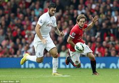 Along with precise and uncomplicated short passing, Daley Blind was an asset in defence...